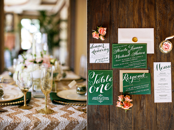 Emerald Green Wedding Decorations