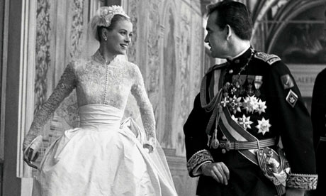 Grace Kelly and Prince Rainier Vintage Wedding
