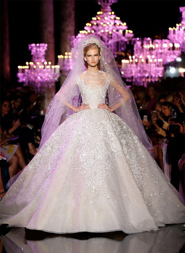 Autumn Fall 2014 Elie Saab Collection, Wedding Dress Mallorca Spain