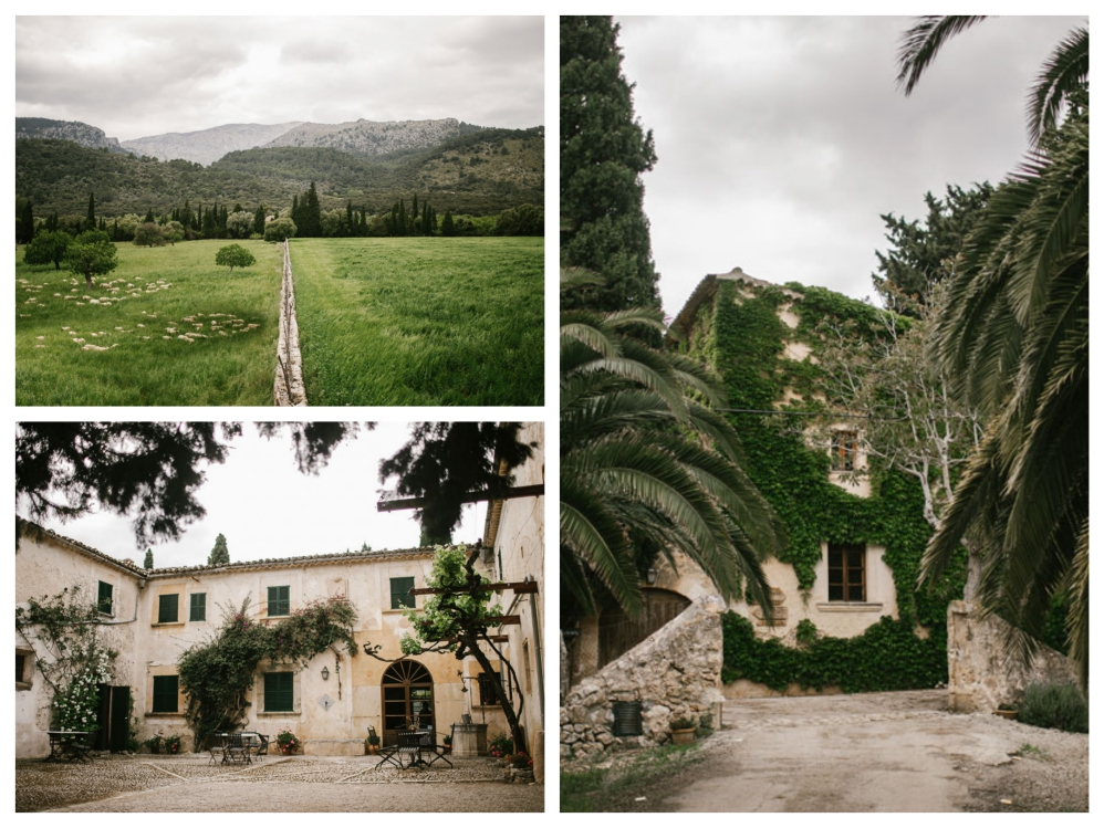 rustic finca mallorca wedding