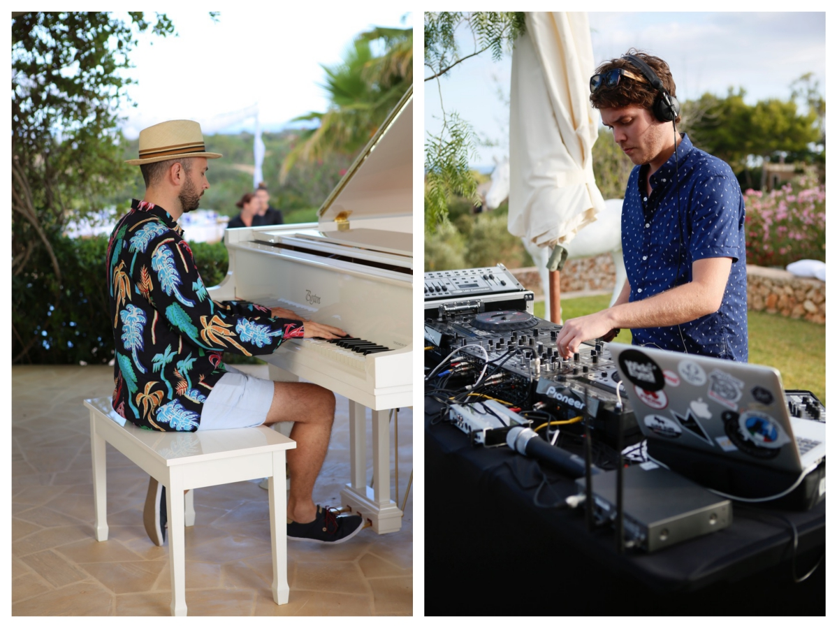 Music Entertainment Pianist DJ Party Mallorca