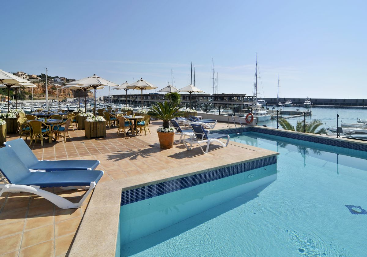 Pool Port Adriano Mallorca Spain
