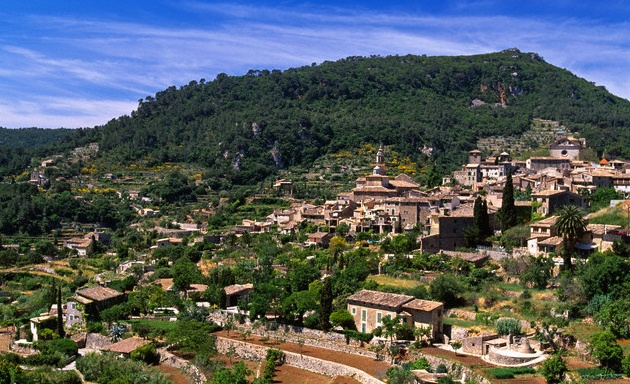Valldemossa, the village famous for Frederic Chopin, Mallorca Spain
