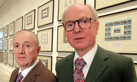 Gilbert and George Mallorca Spain