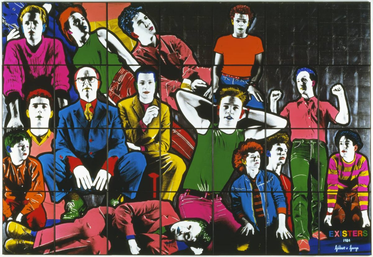 Existers 1984 by Gilbert & George born 1943, born 1942