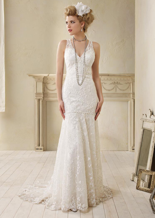 DESIGNER Alfred Angelo Gatsby Wedding Inspiration