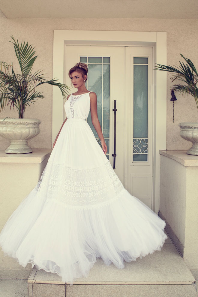 Nurit Hen - Mediterranean Wedding Dress Ideas