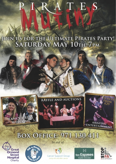 Pirates Mutiny Charity Event Mallorca
