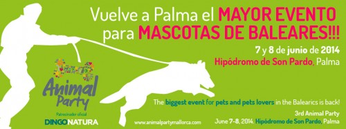 Animal Party Mallorca 2014