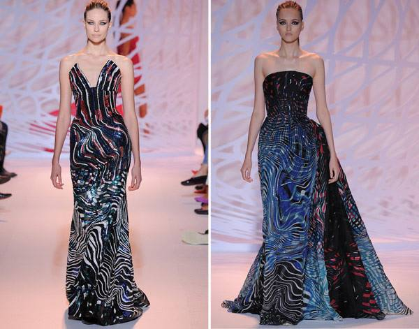 Elegant Dresses Enchanted Forest by Zuhair Murad