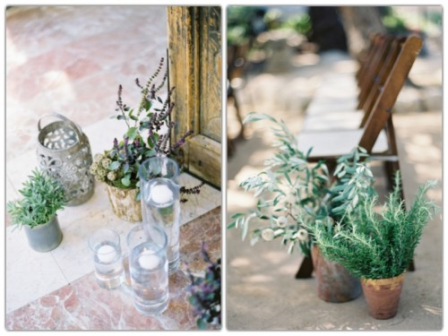 Decor ideas for a pretty Mediterranean wedding in Mallorca
