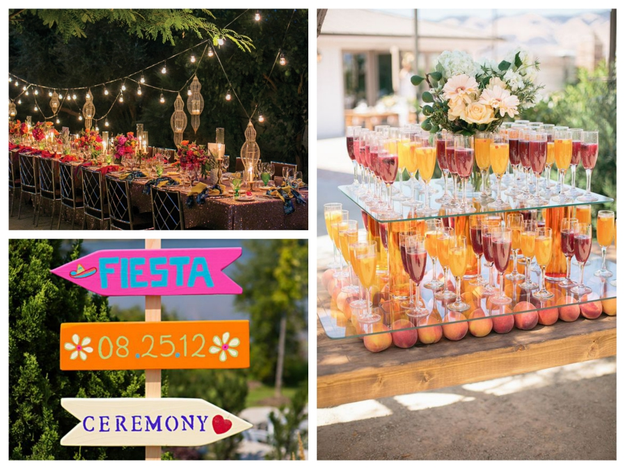 Colorful fiesta inspired wedding Mallorca