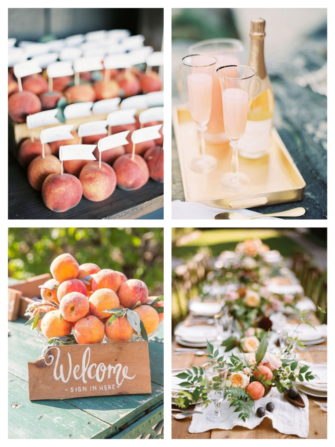 Romantic Peach Wedding Ideas Mallorca