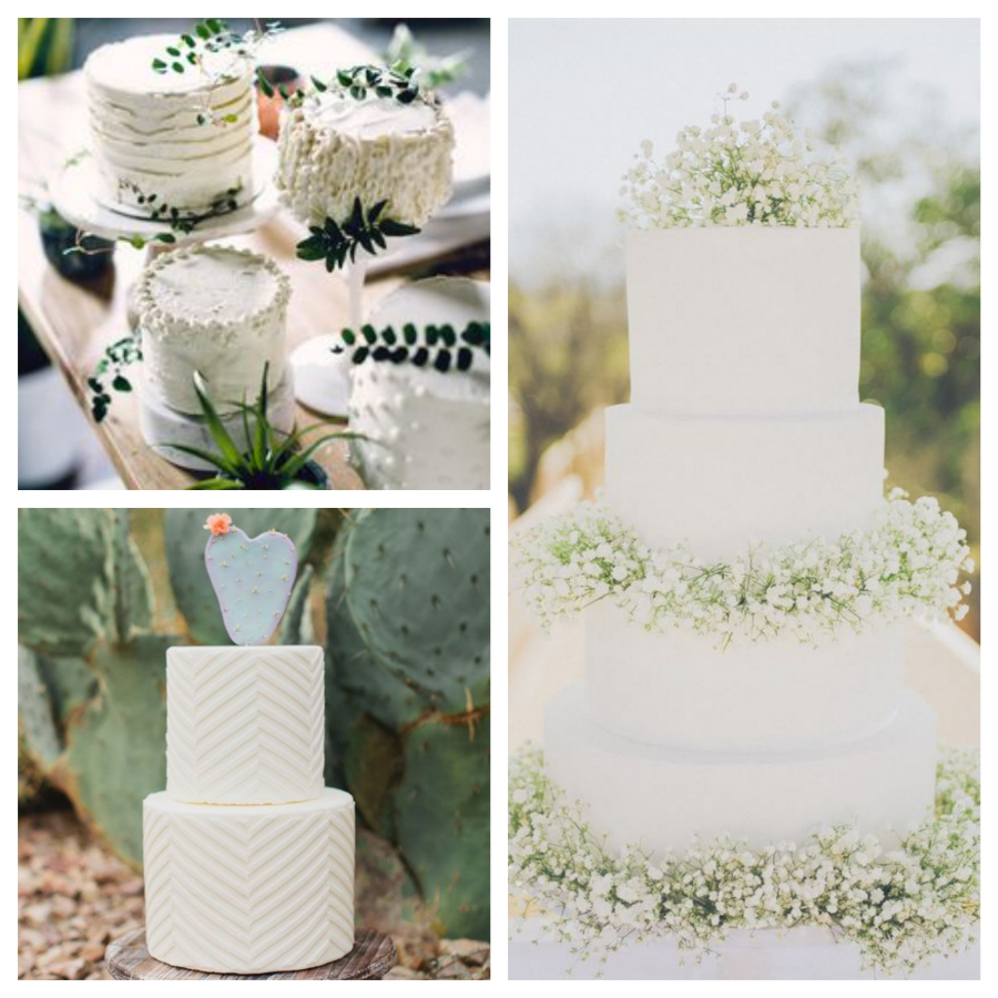 White Wedding Cake Inspiration Mallorca