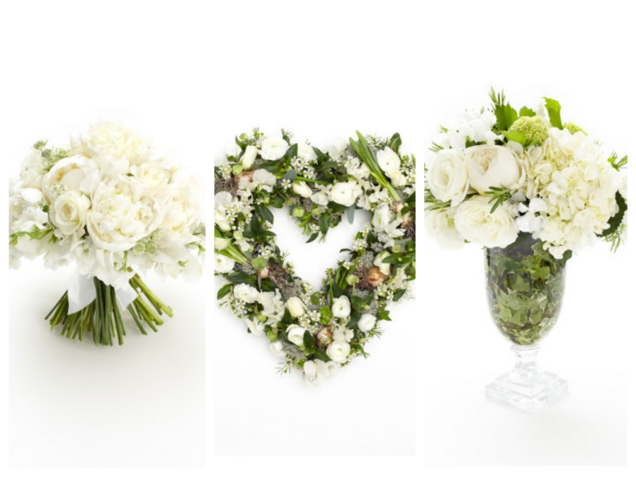 White wedding flower ideas Mallorca