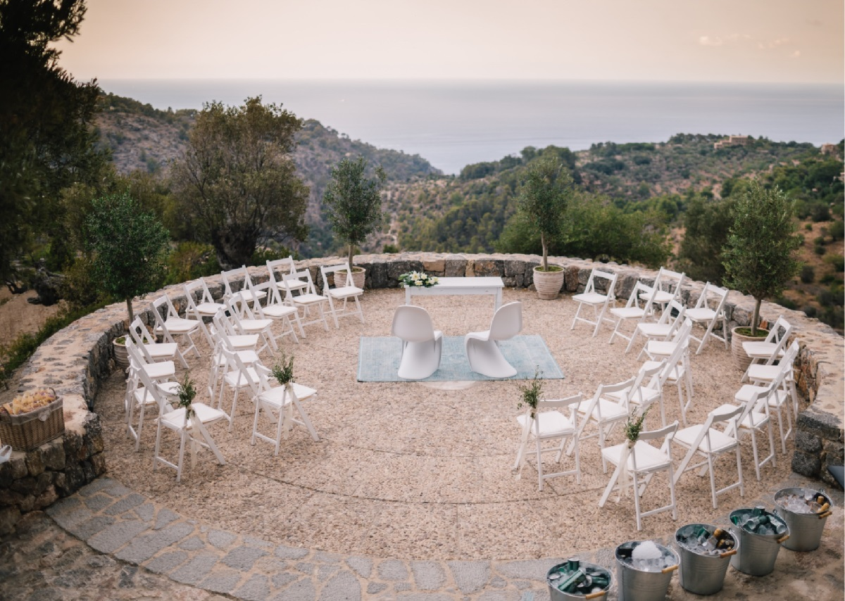 Sea View Wedding Mallorca
