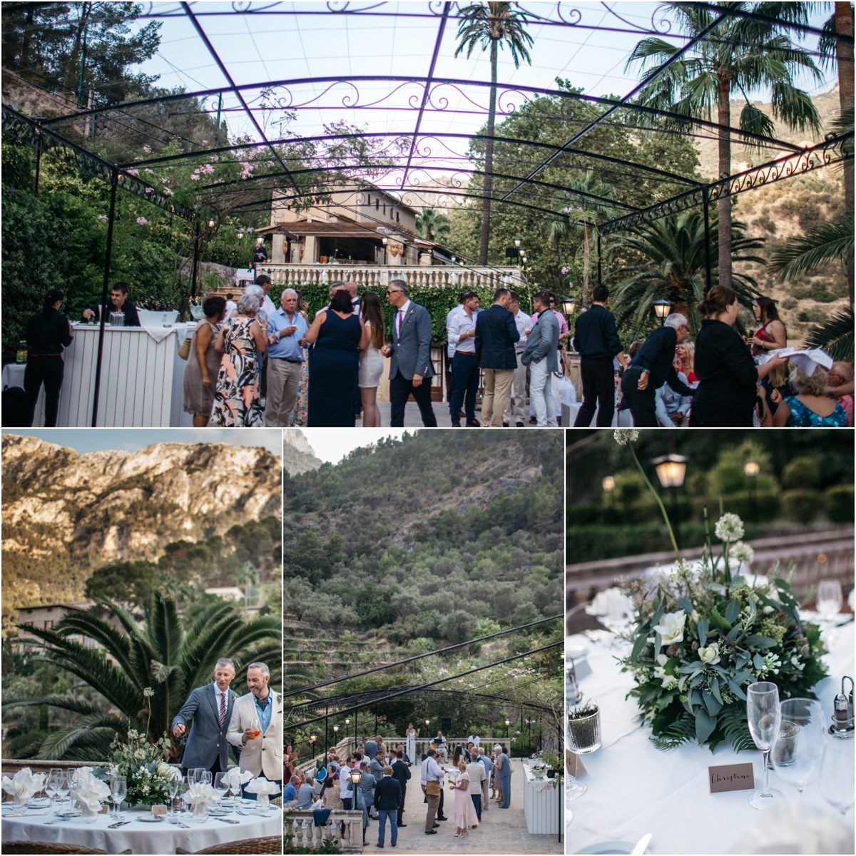 Mountain View Wedding Mallorca