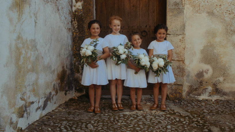 Wedding Mallorca Flowergirls