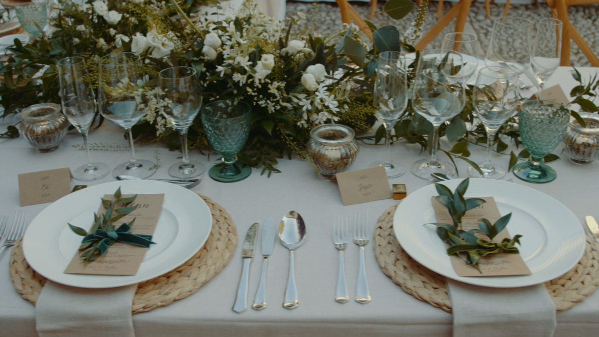 Wedding Table Decoration Mallorca