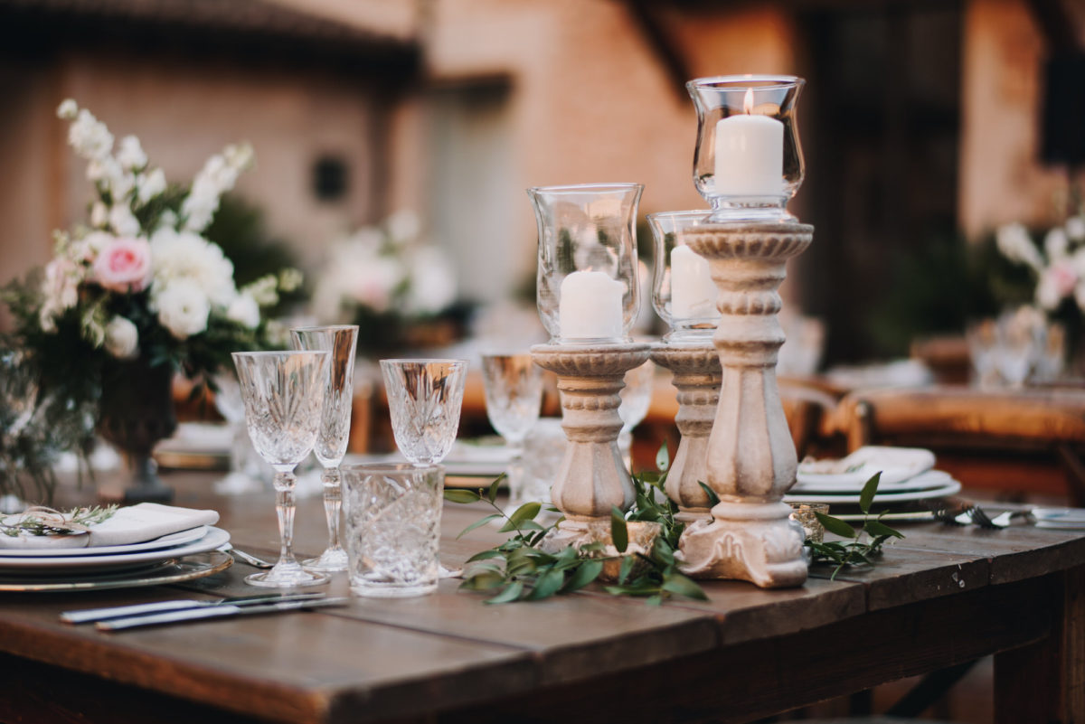 Table Decor Wedding Mallorca